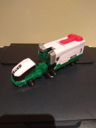 Figura Zord verde Power rangers spd