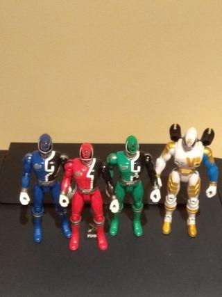 Lote Figuras Power Rangers Spd