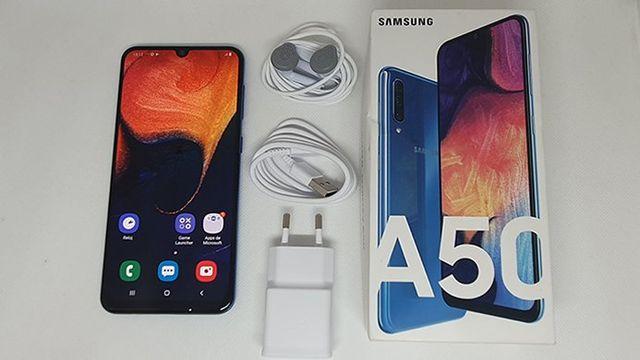 Samsung Galaxy A50 Negro Brillante Buen estado