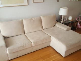 Sofá Chaise longe. beige