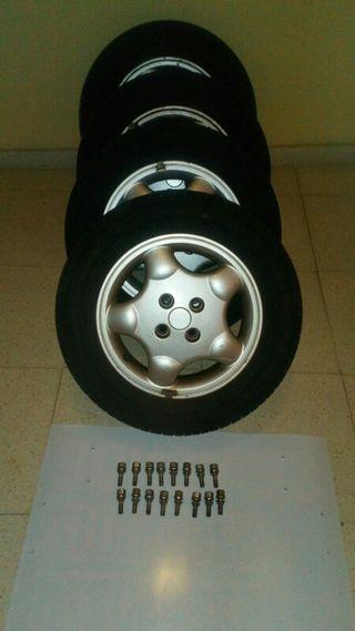 4 llantas de aluminio