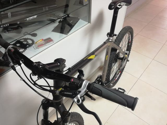 bicicleta orbea freno disco talla L