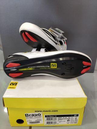 Zapatillas ciclismo Mavic Tri Race nuevas