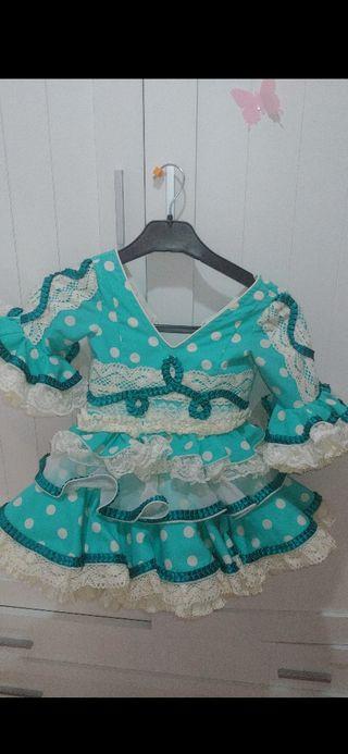 vestido de flamenca 2/4 marca el abanico