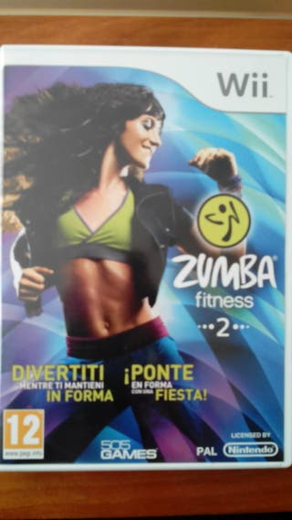 Juego wii ZUMBA FITNESS 2