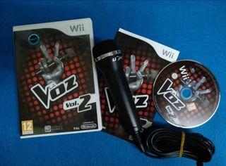 Wii - La Voz 2 + Microfono