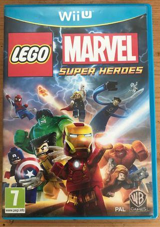 Juego Lego Marvel Super Heroes para Wii U