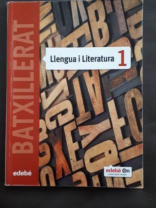 "Libro "" Llengua i Literatura"". Editorial Edebé. En"