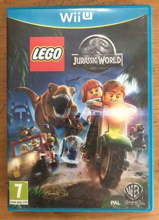 Juego Lego Jurassic World para Wii U