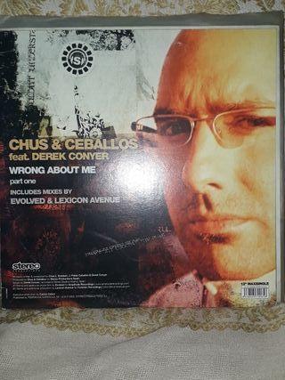 maxi vinilo Chus & Ceballos