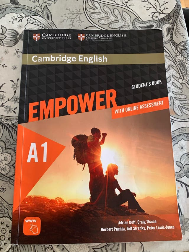 Libro inglés Empower A1