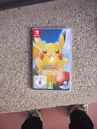 Pokémon lets go i Pokémon tournament para Nintendo