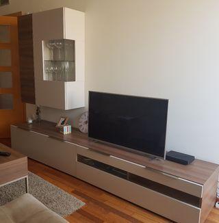 Mueble composición salon-tv + mesa de centro