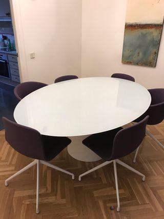 Comedor diseño. Mesa y 6 sillas