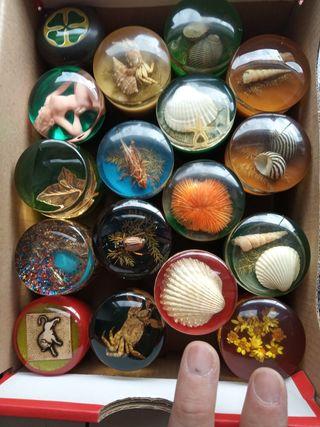 Pomos de resina antiguos