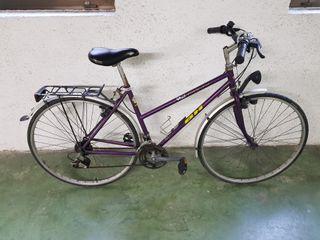 Bicicleta BH Trekking de paseo