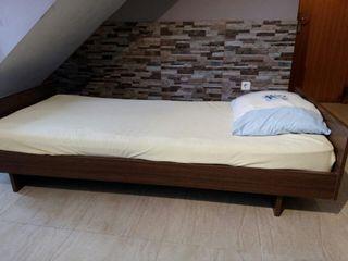 cama de alta calidad 90cm x 200cm completo