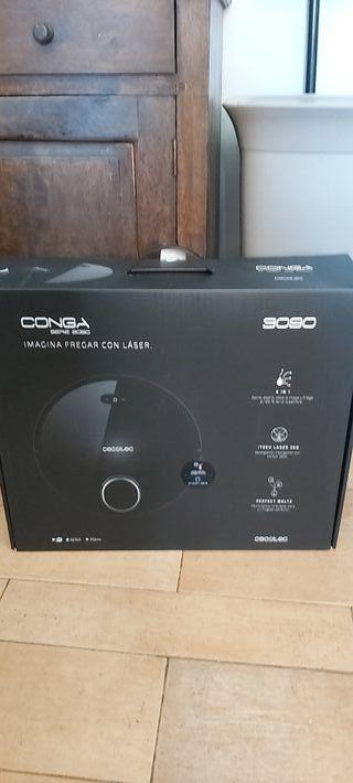 Robot aspirador Conga 3090