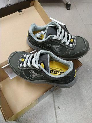 zapatos seguridad diadora run S3 talla 36