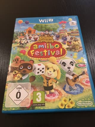 Juego Wii U ANIMAL CROSSING AMIIBO FESTIVAL