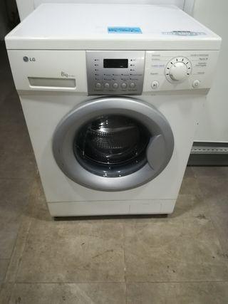 lavadora LG 8 kilos