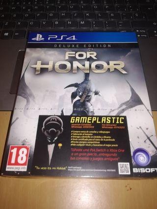 For Honor Deluxe edition Ps4 (PRECINTADO)