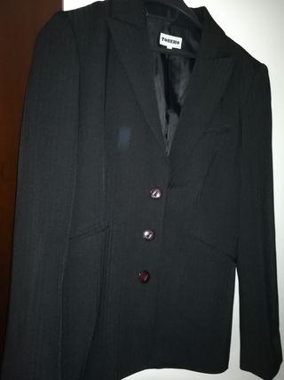 traje chaqueta pantalon mujer
