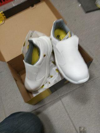zapatos seguridad diadora S2 Run blanco