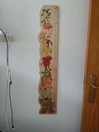 Medidor de madera niños