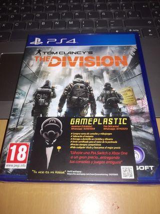 The Division Ps4 (PRECINTADO)