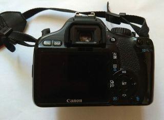 Cámara Canon Reflex 550d