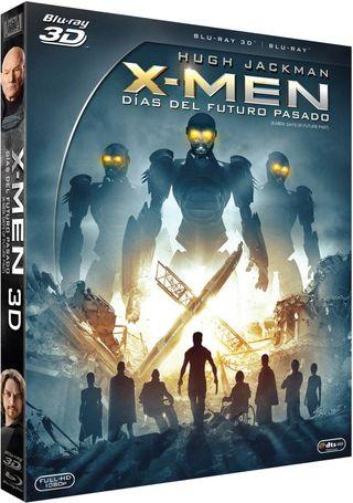 X-Men: Días del Futuro Pasado Blu-ray 2D + BD 3D