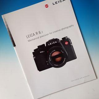 Cámara Leica R6.2