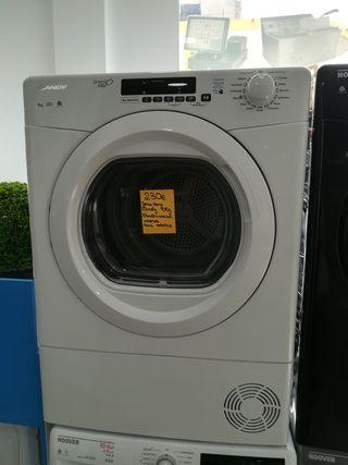 secadora de condensación candy 9 kilos
