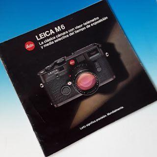 Cámara Leica M6