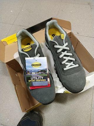 zapatos seguridad diadora glove s1p 46