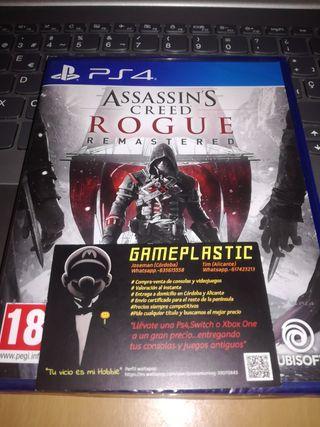 Assassins Creed Rogue Remaster Ps4 (PRECINTADO)