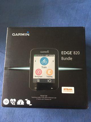 Gps garmin edge 820 bundle pack
