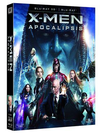 X-Men: Apocalipsis Blu-ray 2D + Bluray 3D