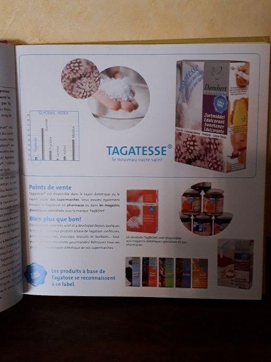 Livre desserts sans sucre pour diabétique