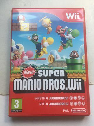 Juego de la Wii: NEW Super mario bros wii
