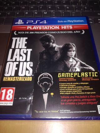 The Last of Us remasterizado Ps4 (PRECINTADO)