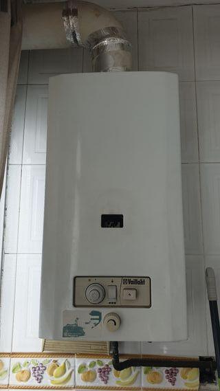 Termo gas natural Vaillant 13 litros