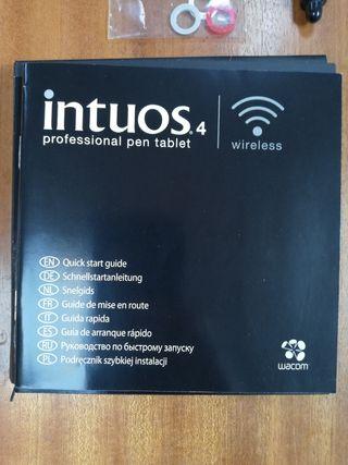 wacom intuos 4 pro pen tablet wireless