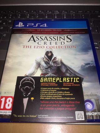 Assassins Creed Ezio Collection Ps4 (PRECINTADO)