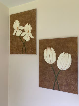 Cuadros Flores 60x80