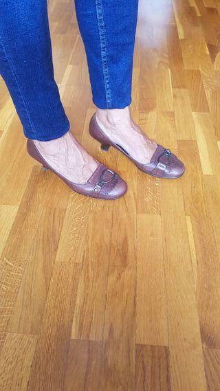 Zapatos de piel Torras