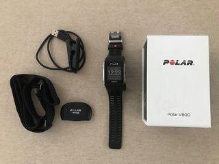 Polar V800 + Banda frecuencia cardiaca
