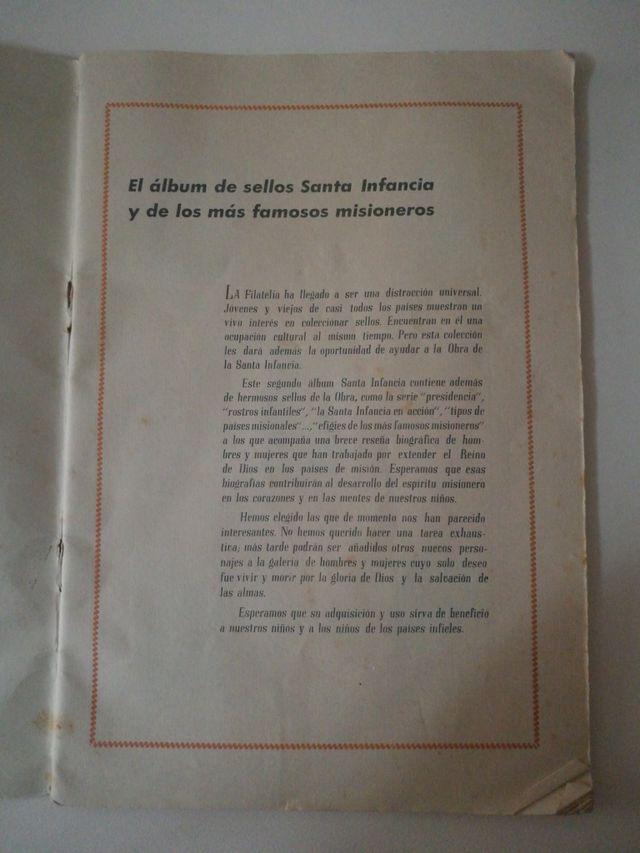 Album de Sellos Santa Infancia n-2