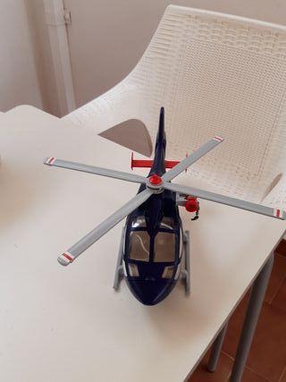 Helicóptero de playmobil